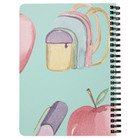 Kids Notebook Journal spiral Lined Back To School Notebook