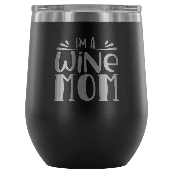 Stemless Wine Tumbler 12 Oz Stainless Steel Lovers Gift For Her Birthday Unique Custom Cup