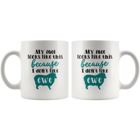 Funny Coffee Mug Coffee Lovers Gift Ceramic Tea Cup Gift for Men Women Mug with Sayings