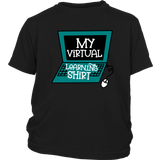 My Virtural Learning Shirt for Kids Boy Girl Graphic Tees Back To School Funny