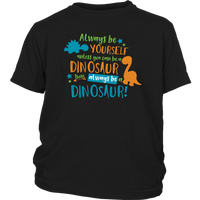 Boy's Dinosaur Back to School T-shirt Custom Premium cotton Kid's clothing Graphic Tee