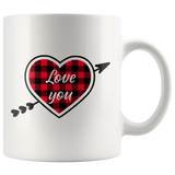 Valentine's coffee mug gift for couples Valentines gift 11 oz ceramic Gift for Her or Him