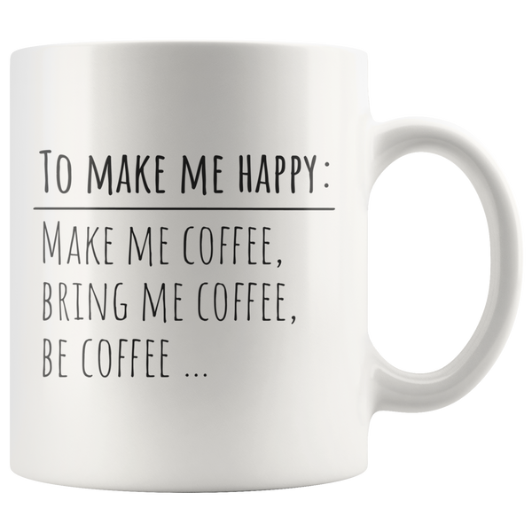 Funny Coffee Mug Coffee Lovers Gift Ceramic Tea Cup Mug with Funny Sayings