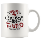 Christmas Coffee Mug Sweet But Twisted Candycane Christmas Gifts Custom Mug Funny mug