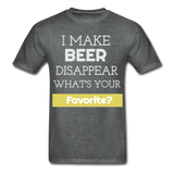 Funny Beer Lover TShirt Funny Shirt with Sayings Beer Lover Gift - deep heather