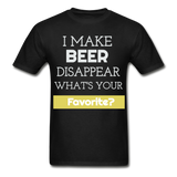 Funny Beer Lover TShirt Funny Shirt with Sayings Beer Lover Gift - black