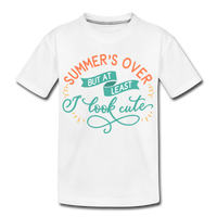 Girls Back to Schoo Shirt Funny Premium T-Shirt - white