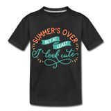 Girls Back to Schoo Shirt Funny Premium T-Shirt - black