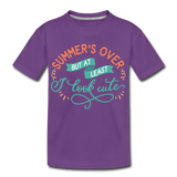 Girls Back to Schoo Shirt Funny Premium T-Shirt - purple