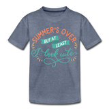 Girls Back to Schoo Shirt Funny Premium T-Shirt - heather blue