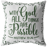 Inspirational Throw Pillow Accent Pillow Housewarming birthday gift Home And Room Decor