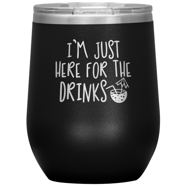 Wine Tumbler, Wine Lover Gift Funny Tumbler Wine Glass Stemless Whiskey Tumbler Party