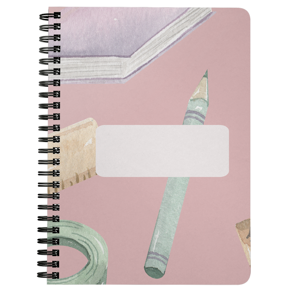 Notebook Journal Spiral School Writing Journal Lined Personal Spiral Notebook