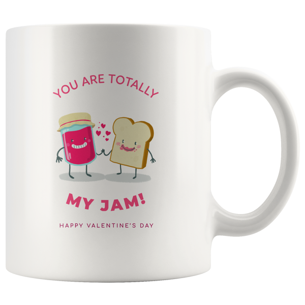 You Are Totally My Jam Valentines Mug Gift For Couples Love Gifts Coffee Cup