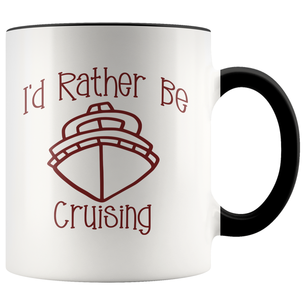Cruising gift for friends and family ceramic funny coffee mug for cruisers travelers gift