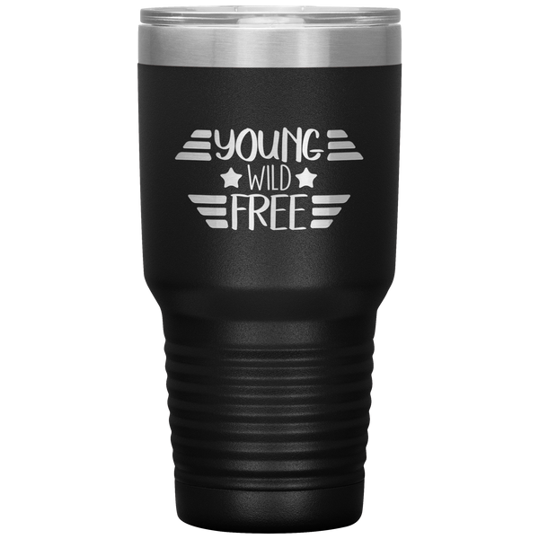 Tumbler Cup Beer Tumbler Travel Mug 30 oz Insulated Tumbler For Men or Women  4th of July