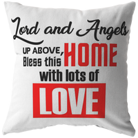 Home Decor Throw Pillow Bless This Home pillows Housewarming birthday gift room decor