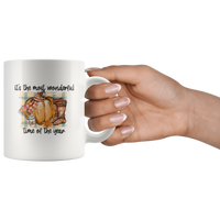 Most Wonderful Time of The Year Coffee Mug Thanksgiving Mug Coffee Lovers Gift