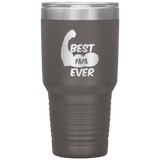 Father's Day GiftTumbler Cup  Best Papa Ever  Tumbler Gift for Papa Dad Daddy Grandpa