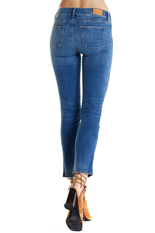 Paris jeans by m.i.h jeans, a slim fit denim in medium wash