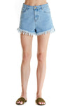 Zed Fray Denim Shorts