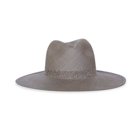 Kin/K straw hat in Stone