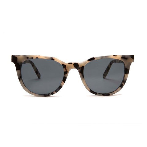 Sodermalm Monc London White Tortoise Sunglasses