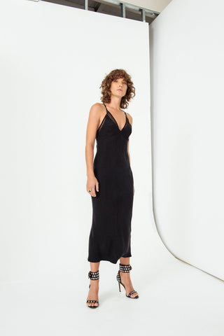 Shadow Play Slip Dress