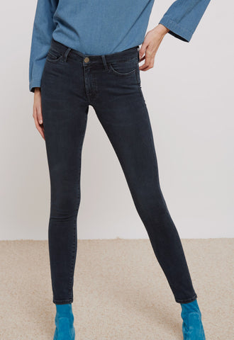 Blue skinny jeans from M.i.h Jeans.
