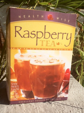 Raspberry Tea Protein Drink