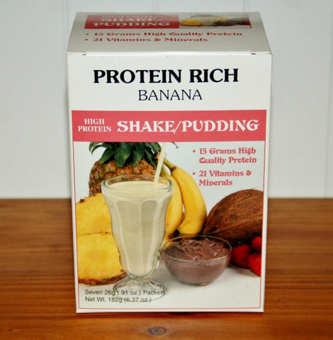 Protein Puddings-Banana