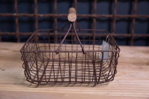 Square Rustic Basket