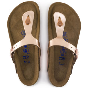 Birkenstock Gizeh Soft Metallic Copper