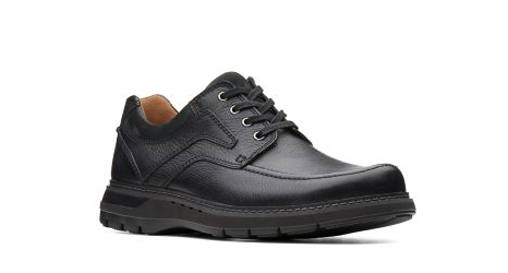 Clarks Un. Ramble Lace Black