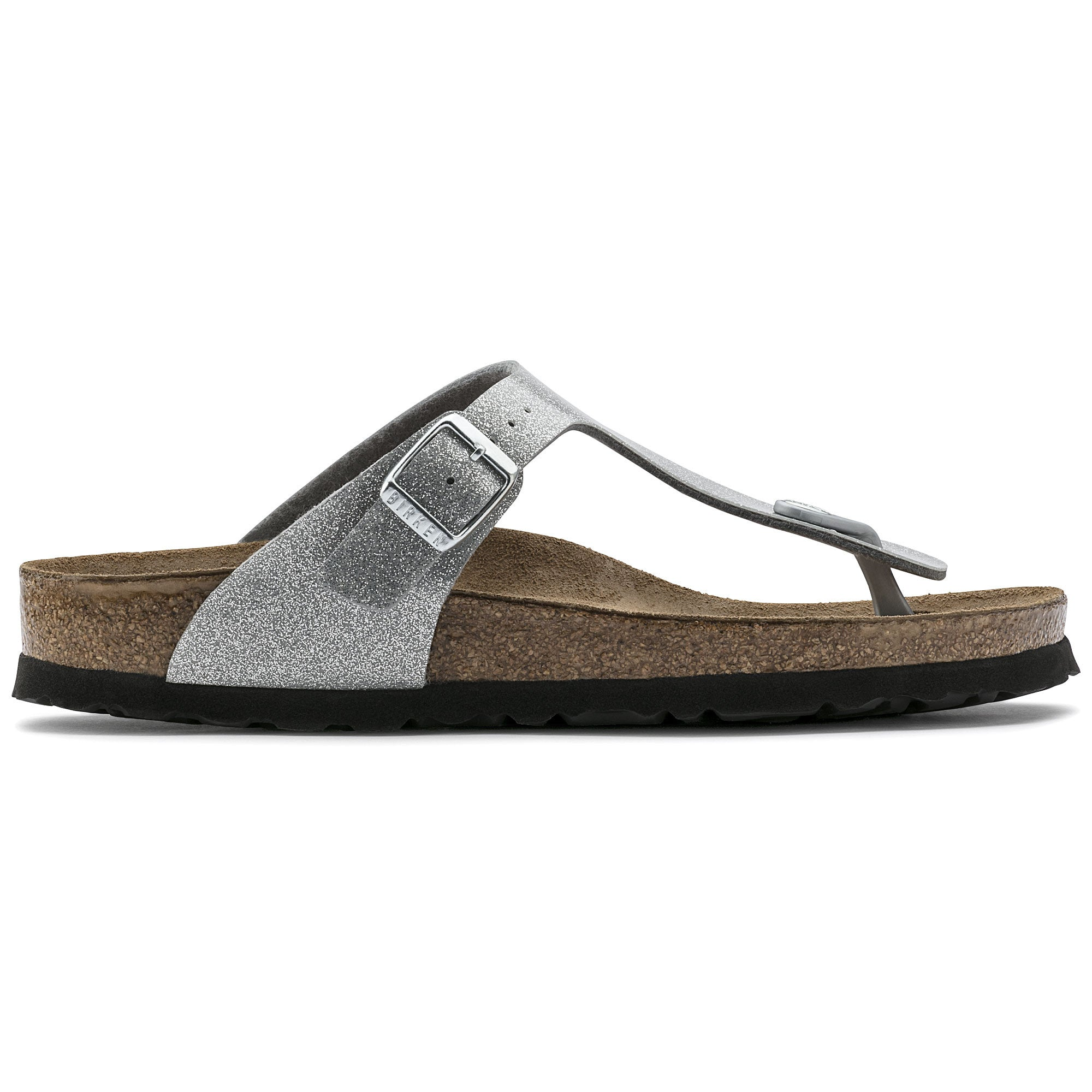 Birkenstock Gizeh Magic Birko-Flor Silver