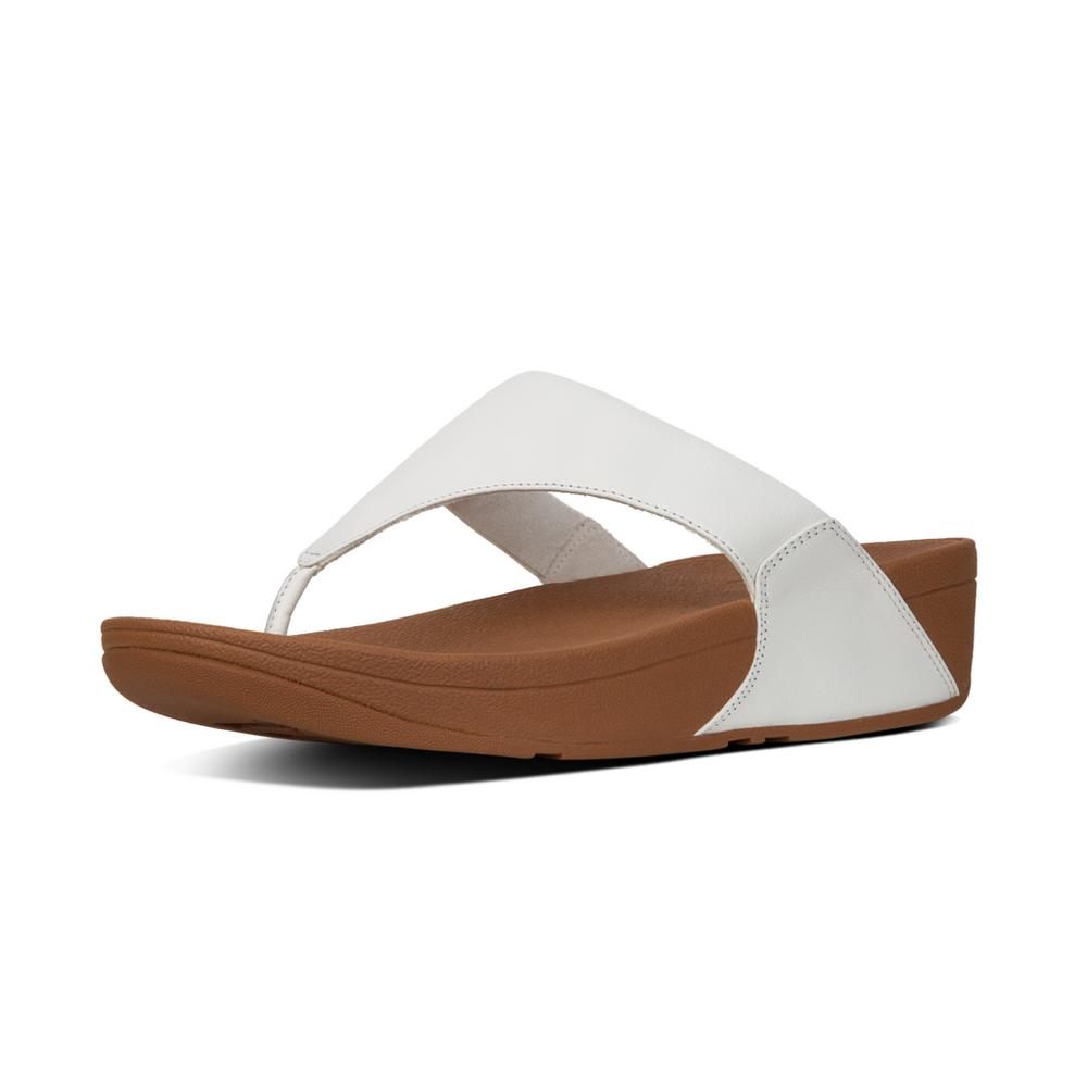 Fitflop Lulu Leather Urban White