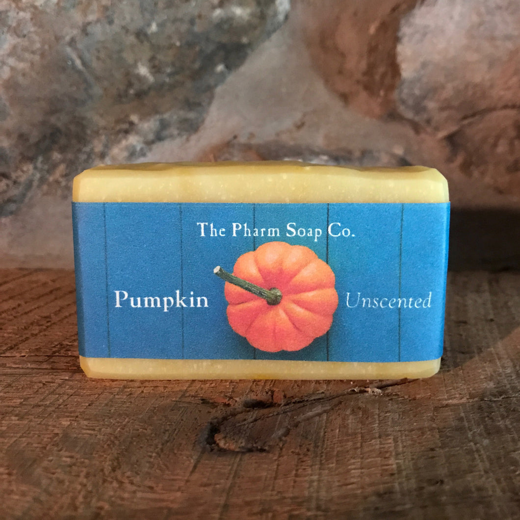 Pumpkin, Unscented Soap
