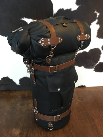 B&C Leather Motorcycle Bag Set