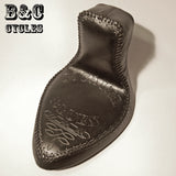 Custom Tooled Leather Seat