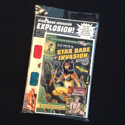 Star Babe Invasion Explosion!