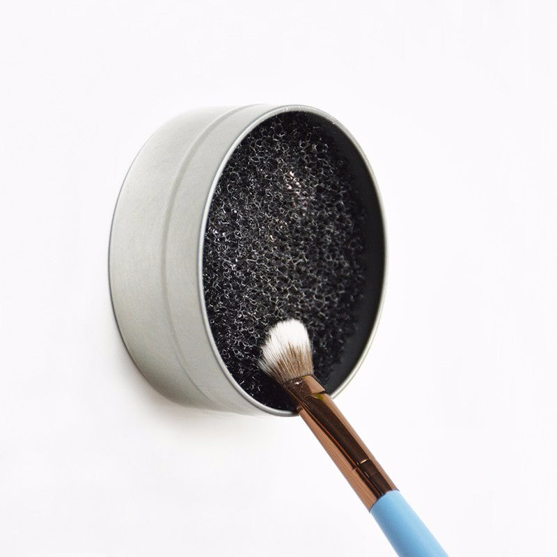 3 Second Color Off Makeup Brush Cleaner Sponge