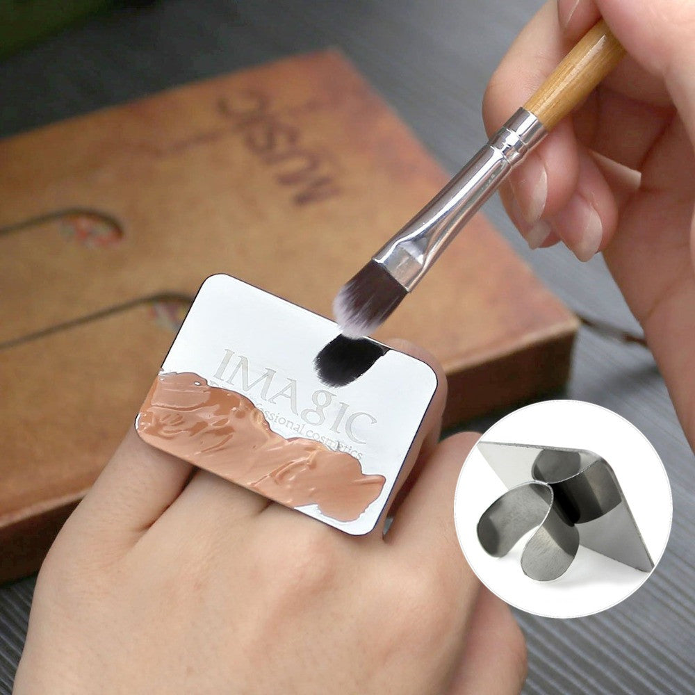 Concealer/Makeup Blending Mixing Palette Ring Stainless Steel