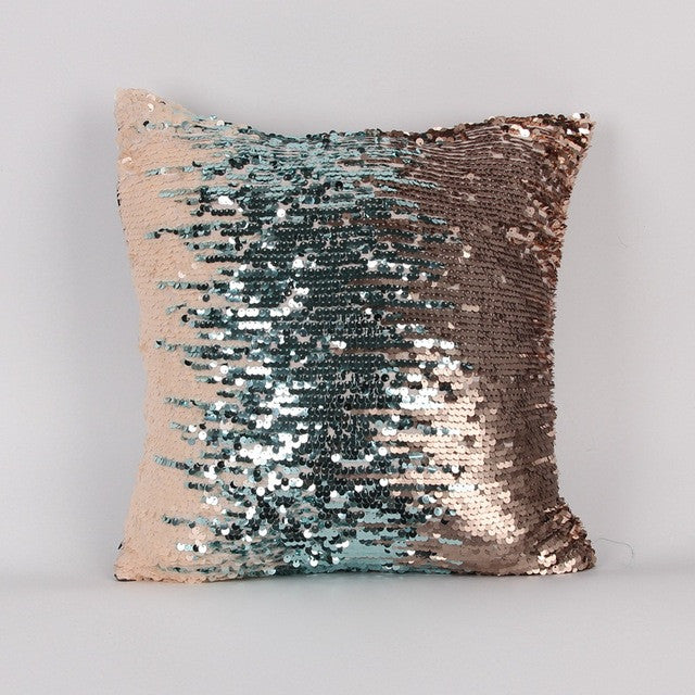 Glitter Mermaid Car Cushion Cover
