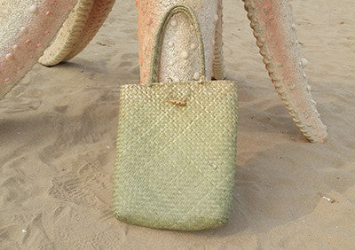 Handmade Woven Tote Summer Straw Bag