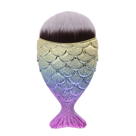 Cosmetic Mermaid Professional Powder Makeup Brushes