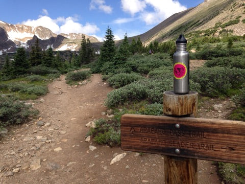 FishSki Water Bottle in Indian Peaks
