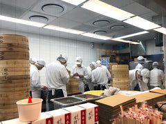 Din Tai Fung chefs working