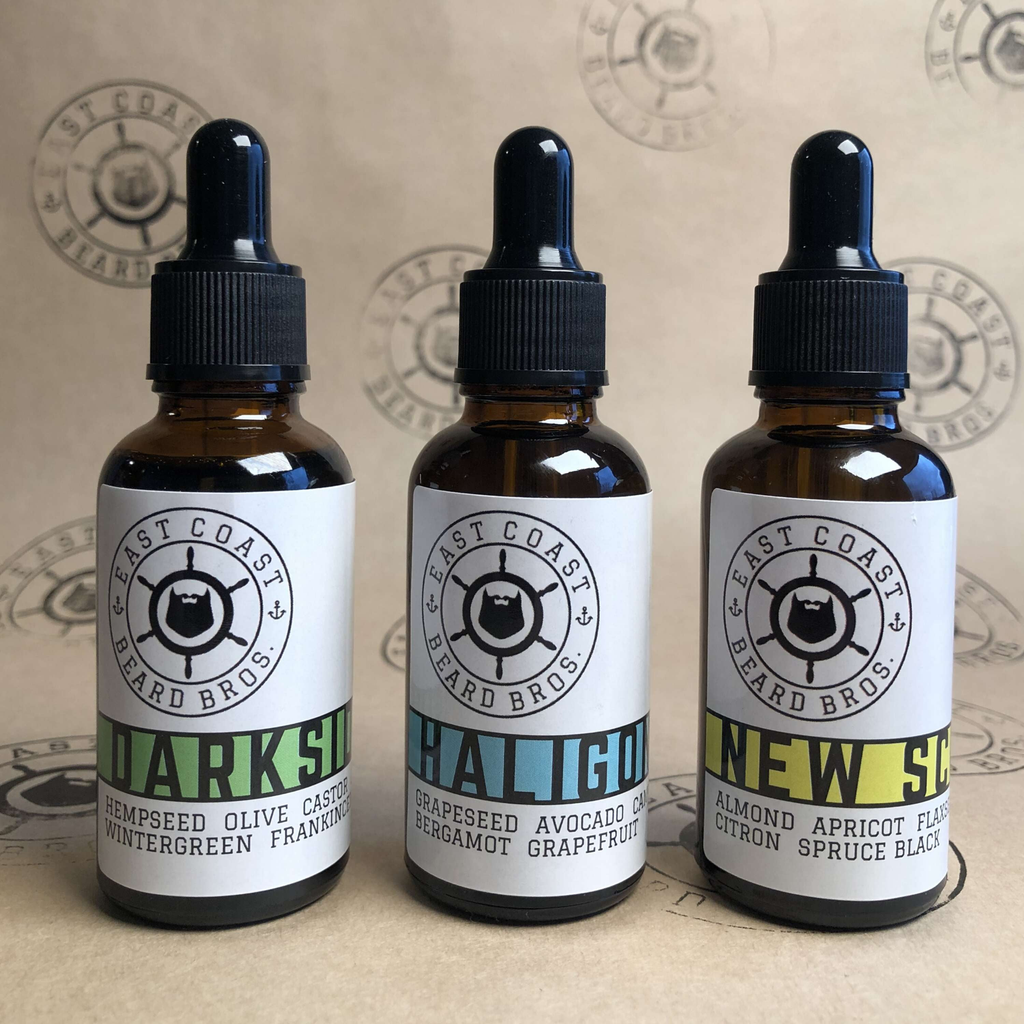3 Pack Beard Oil - East Coast Beard Bros