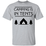 Short Sleeve - Camping Intents T-Shirt