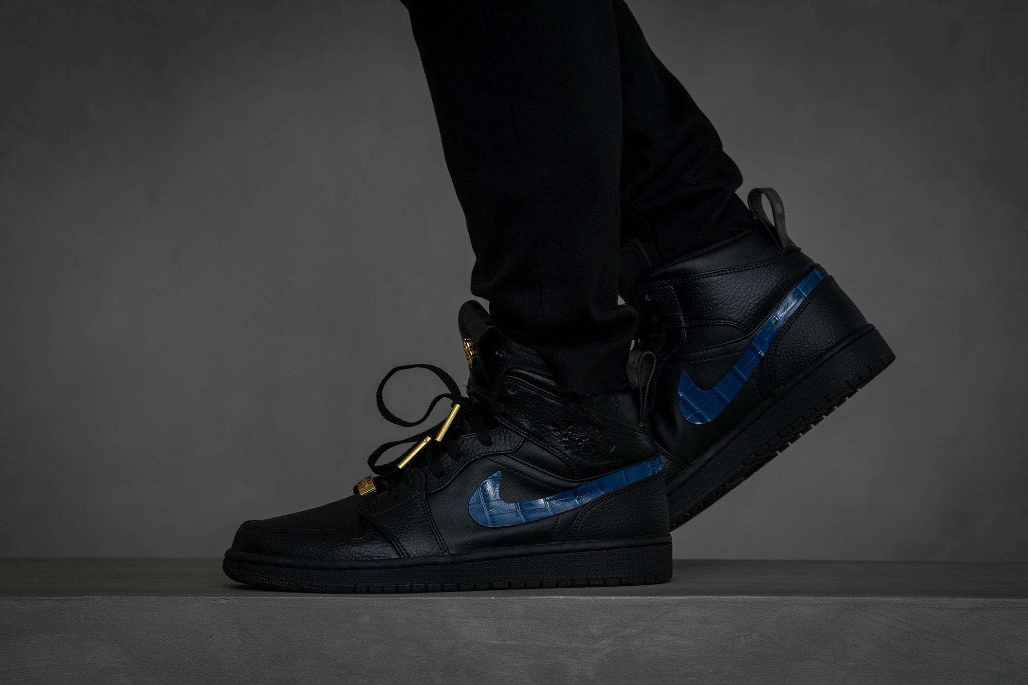 Customized Air Jordan 1 Sneakers by Golden Concept